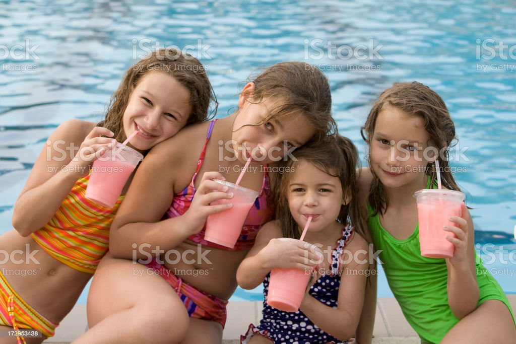 Pool Pal Party royalty-free stock photo