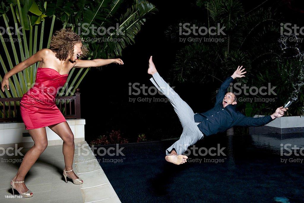 Pool Party stock photo