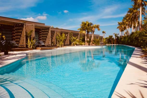 pool. - 5 sterne hotel türkei stock-fotos und bilder