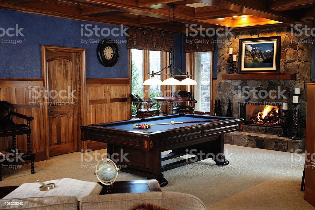 Pool-Tisch in der Bonus Zimmer Innenansicht – Foto
