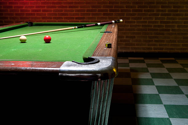 Royalty Free Retro Pool Tables Pictures Images And Stock Photos - Retro pool table