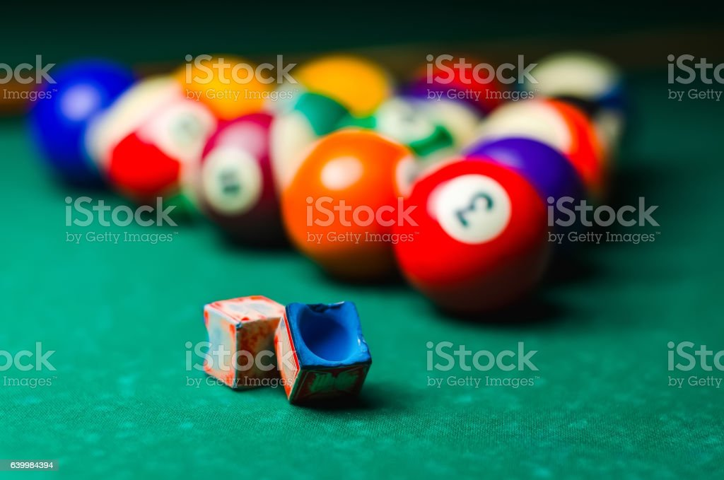 Exceptionnel Pool Table Stock Photo