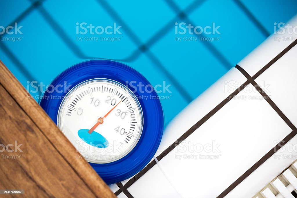 Pool Thermometer Stock Photo - Download Image Now - iStock