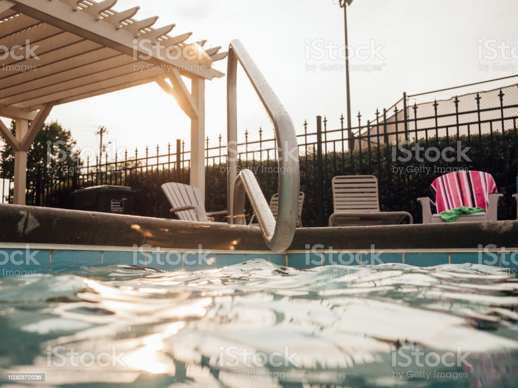pool time royalty-free stock photo