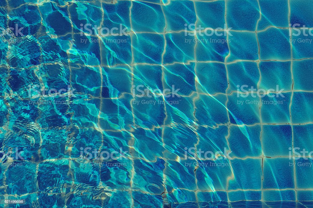 pool water reflections and sumlight background Lizenzfreies stock-foto