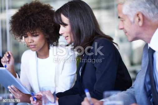 603310486istockphoto Pooling their ideas for even greater success 507376793