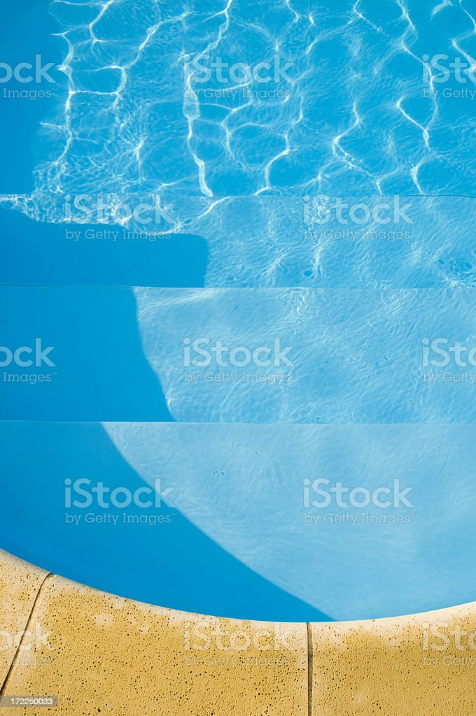Poolside royalty-free stock photo