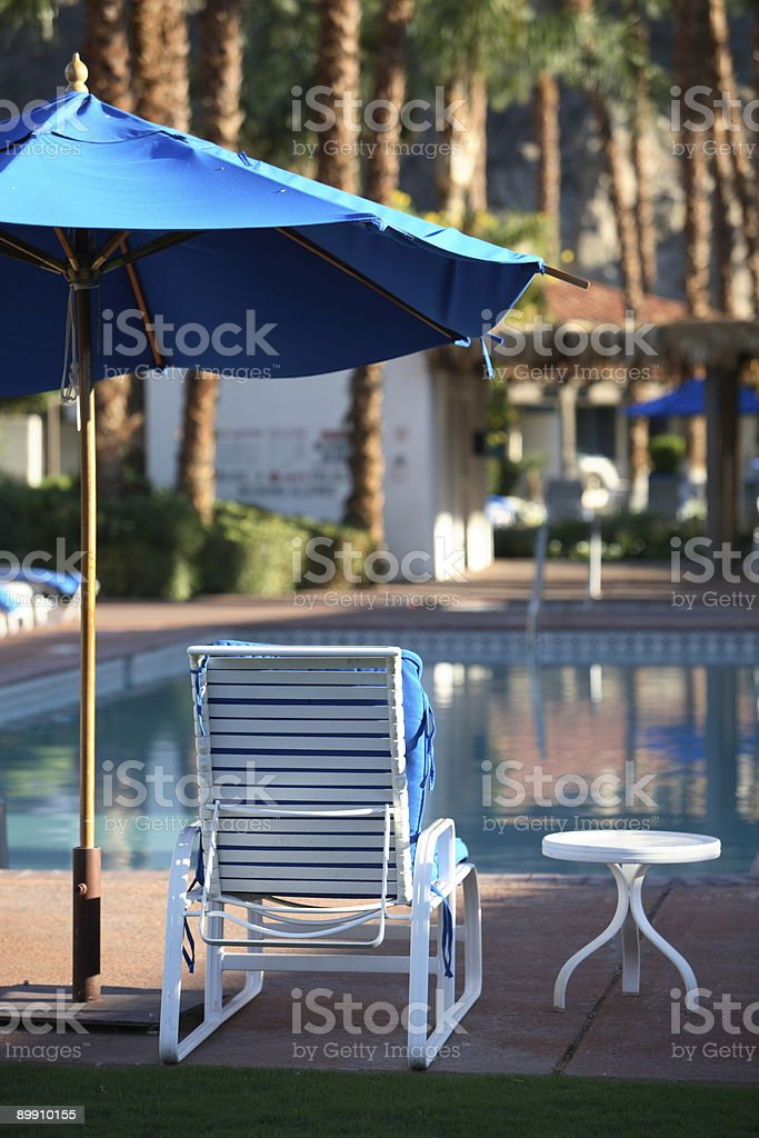 Poolside Series royalty-free stock photo