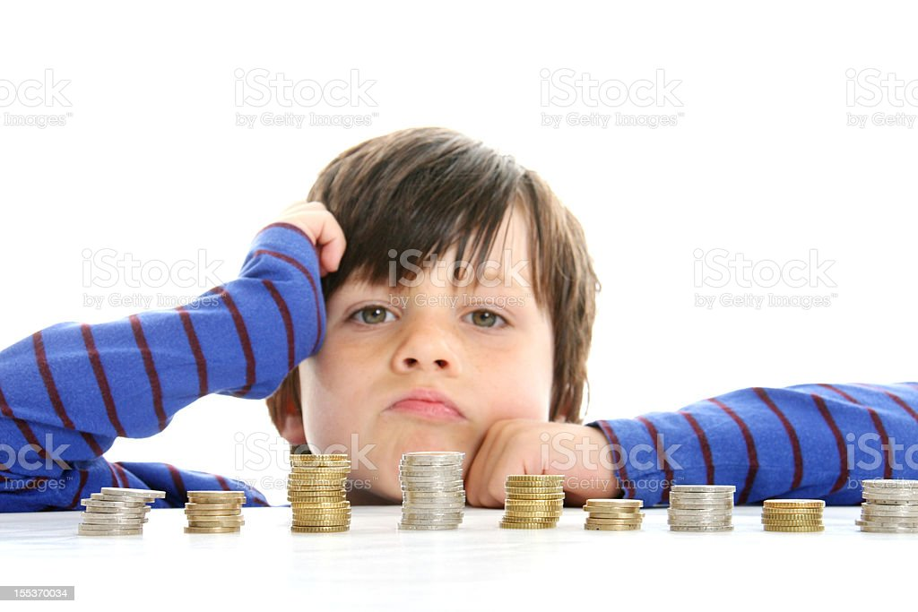 poor boy royalty-free stock photo