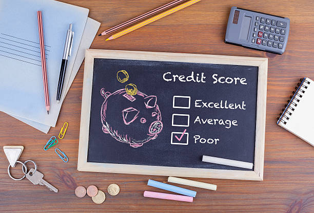 poor credit score concept - rudeness stock pictures, royalty-free photos & images
