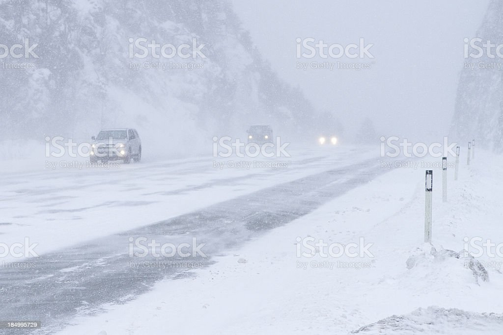 Poor road conditions. royalty-free stock photo