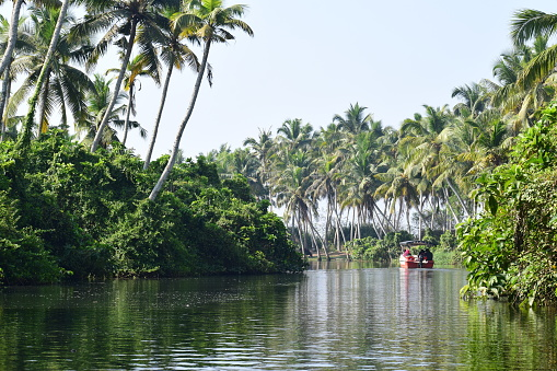 Poovar is a tourist town in Neyyattinkara in the Thiruvananthapuram district of Kerala state, South India. This village is almost at the southern tip of Thiruvananthapuram while the next village, Pozhiyoor, marks the end of Kerala.