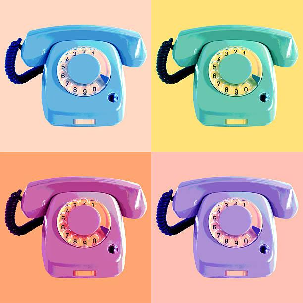 поп-арт постер для телефона - поп арт стоковые фото и изображения