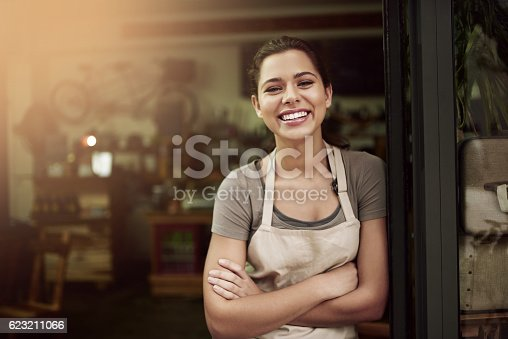 istock Pop in to your local coffee parlor 623211066
