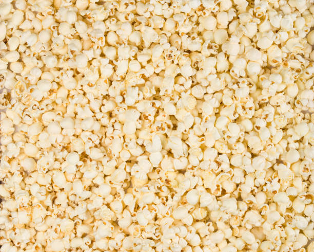 Popcorn ащщв background stock photo