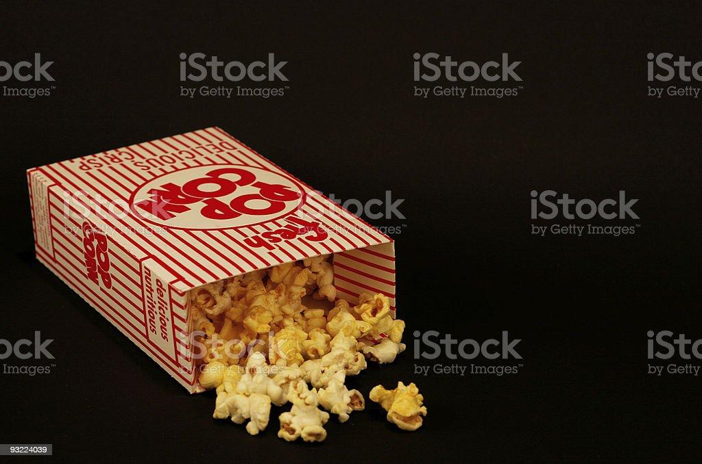 Popcorn Box 1 royalty-free stock photo