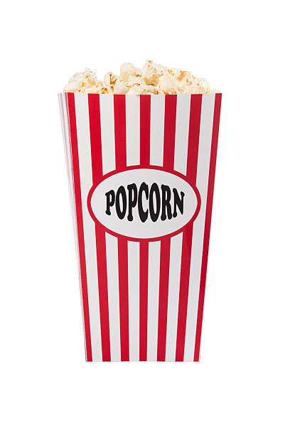 Popcorn Box stock photo