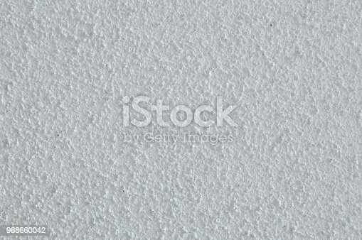 Close-up of popcorn ceiling.
