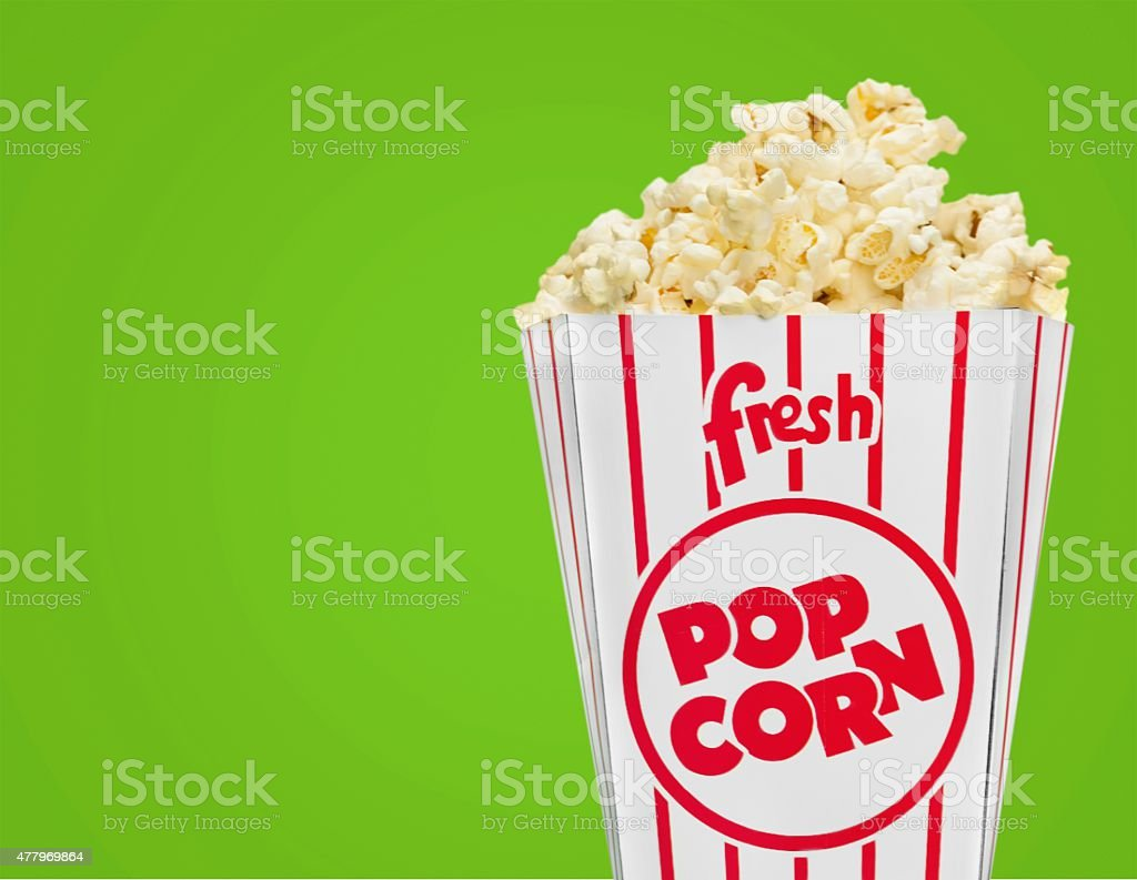 Popcorn, Concession Stand, Food stock photo