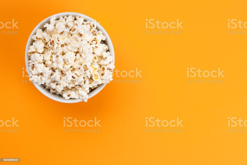 Popcorn - Isolated stock photo