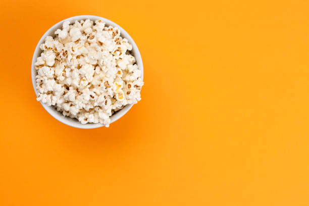 Popcorn - Isolated stock photo