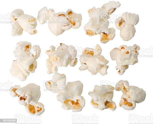 """""""Group of fresh popcorn. This file is cleaned, retouched, contains"""""""