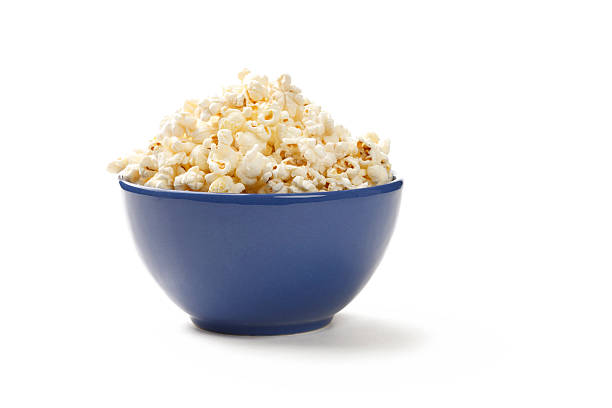 popcorn - bowl stock pictures, royalty-free photos & images