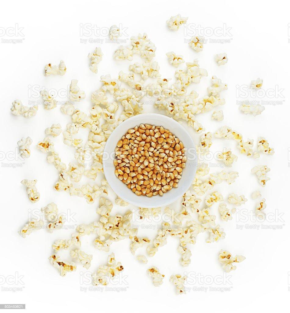 Popcorn Lizenzfreies stock-foto
