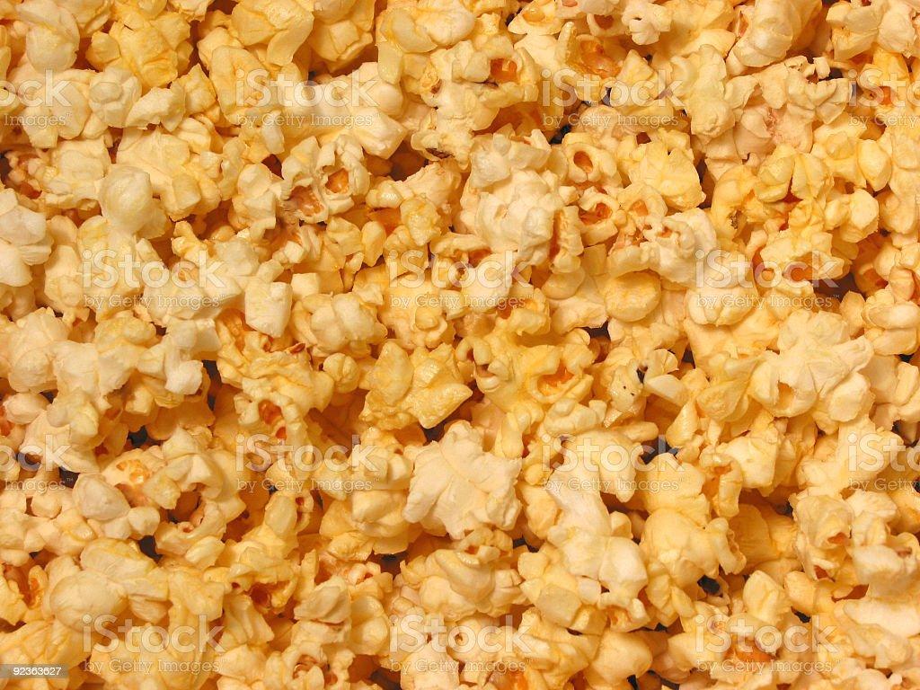 Popcorn texture royalty-free stock photo