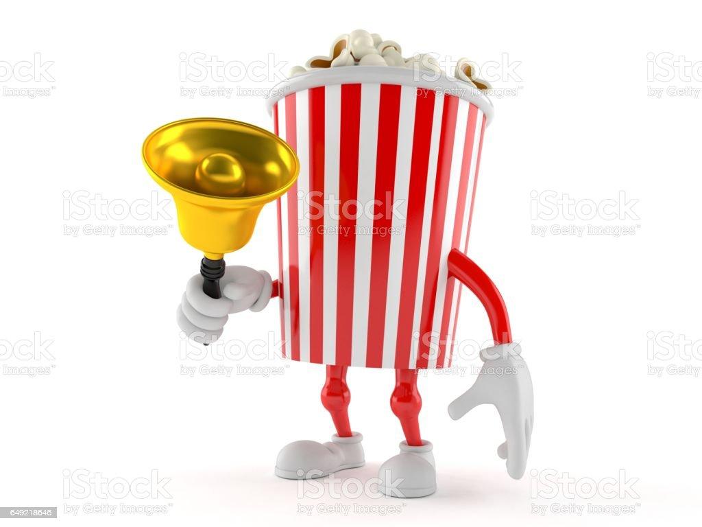 Popcorn toon stock photo