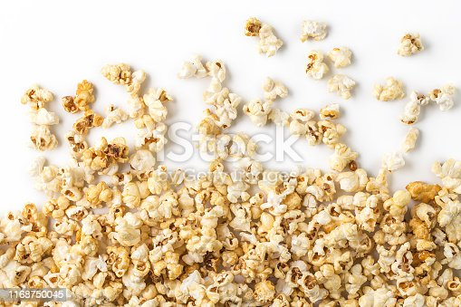 istock Popcorn white background 1168750045