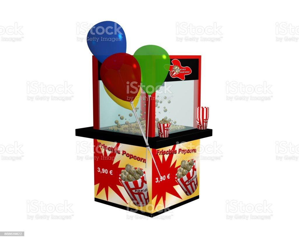 Popcornmaschine Mit Deutschem Text
