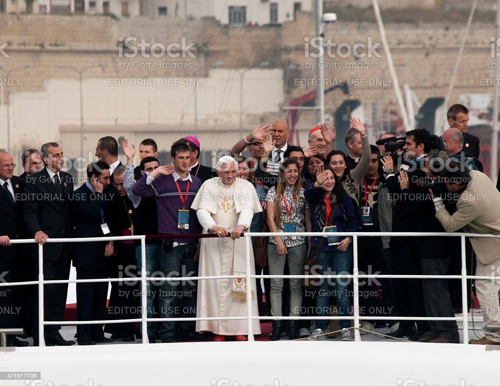 Pope Benedict XVI stock photo