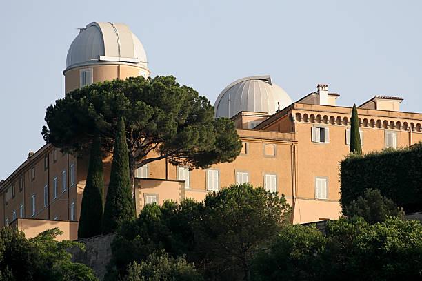 Popes Summer Residence stock photo