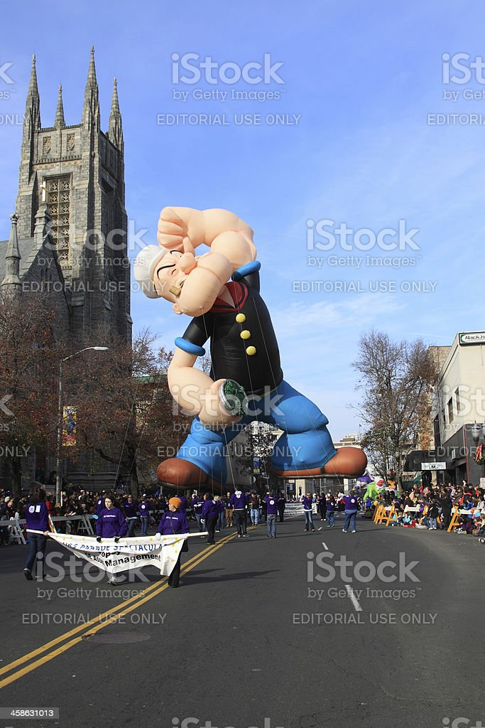 popey the sailor royalty-free stock photo