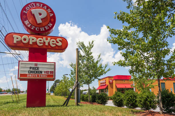 Popeyes Louisiana Kitchen stock photo