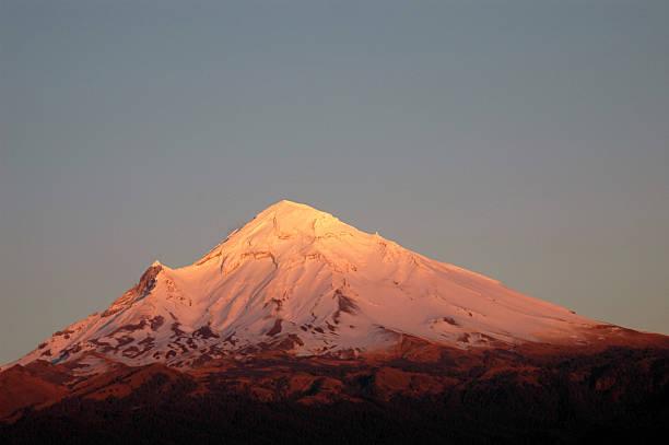 Popocatepetl the Mexican Volcano stock photo
