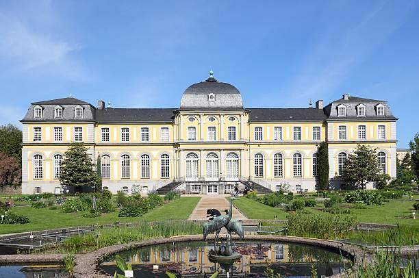 Poppelsdorf Palace in Bonn. stock photo