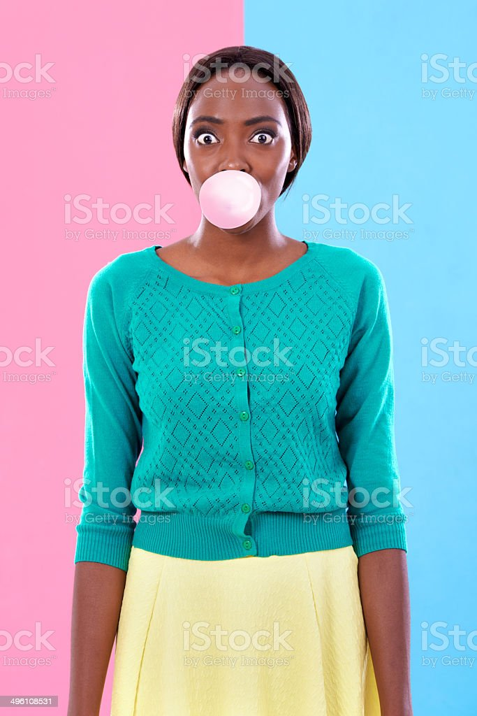 Popping Colours stock photo