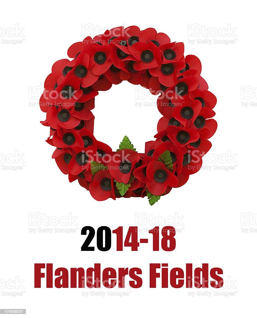 Poppy world war one great poppies flanders fields stock photo