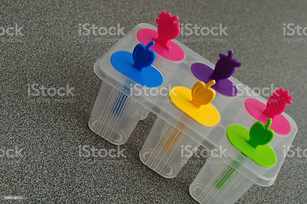 Popsicle holder photo libre de droits