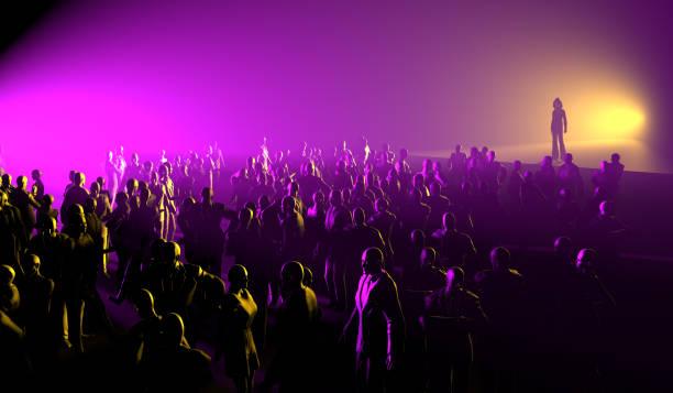Popstar und Aurience beim Musikfestival – Foto