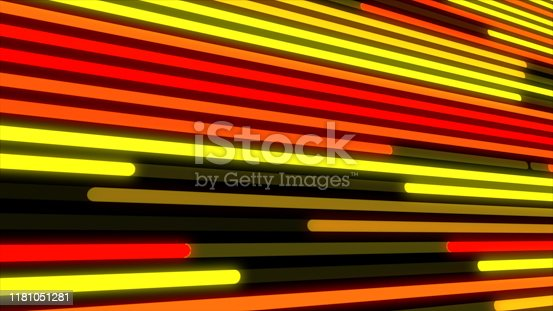 932724974 istock photo Popular Abstract LED wall light, LED smd Screen Board animation 3D rendering 1181051281