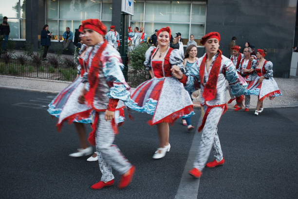 Beliebte Feiern in Lissabon – Foto