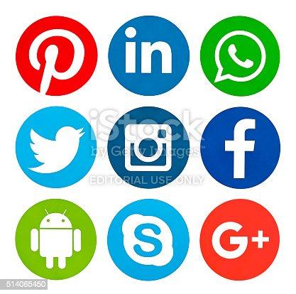 istock popular social media icons 514065450