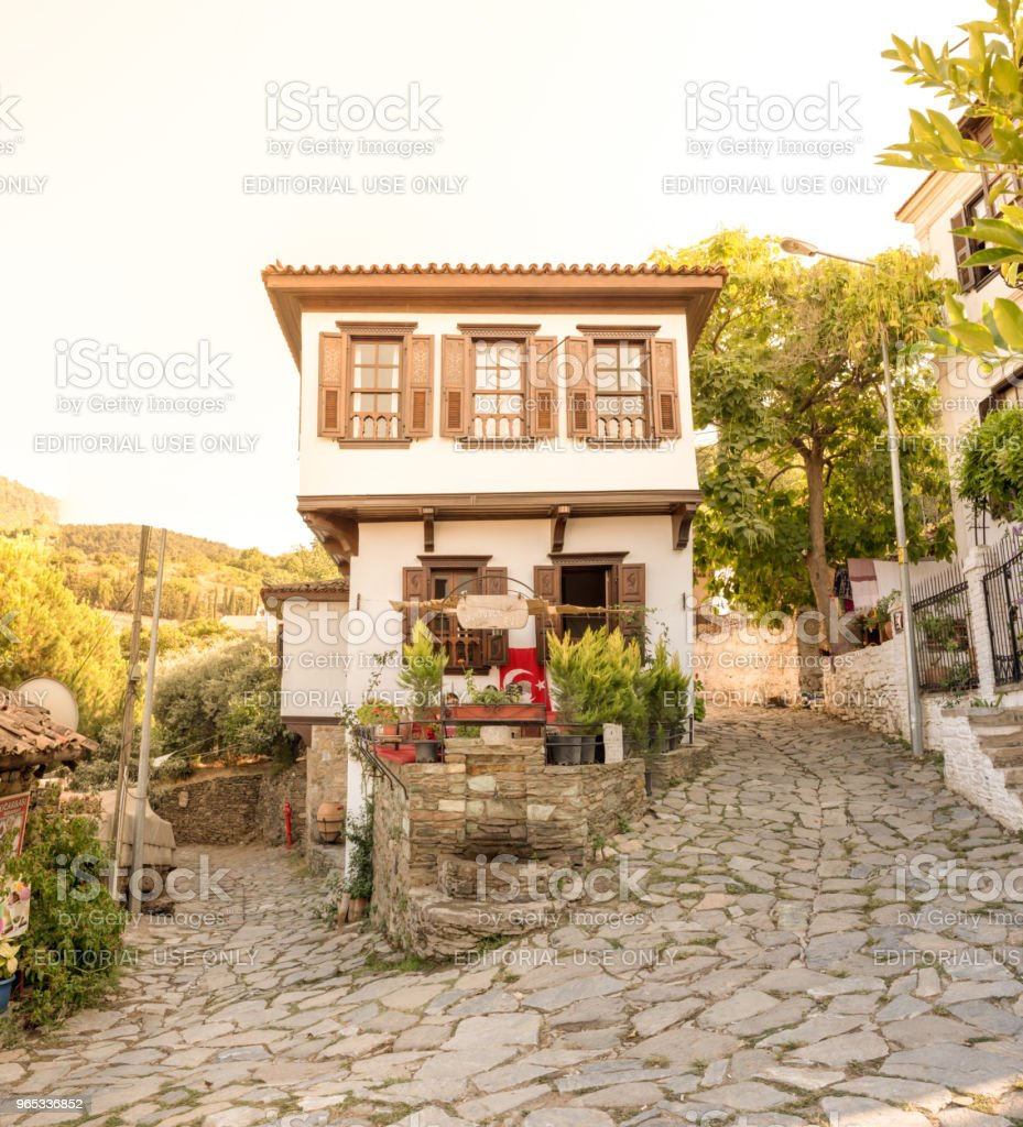 Popular Village of Sirince in Selcuk,Izmir,Turkey. royalty-free stock photo