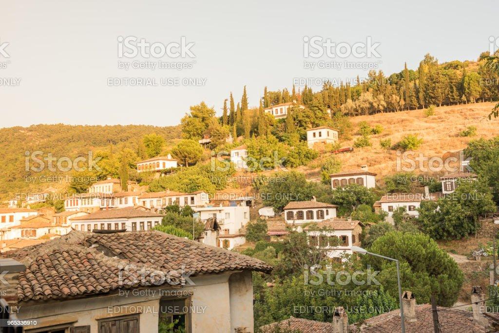 인기 있는 마을의 해 셀 축, 이즈미르, 터키에. - 로열티 프리 0명 스톡 사진