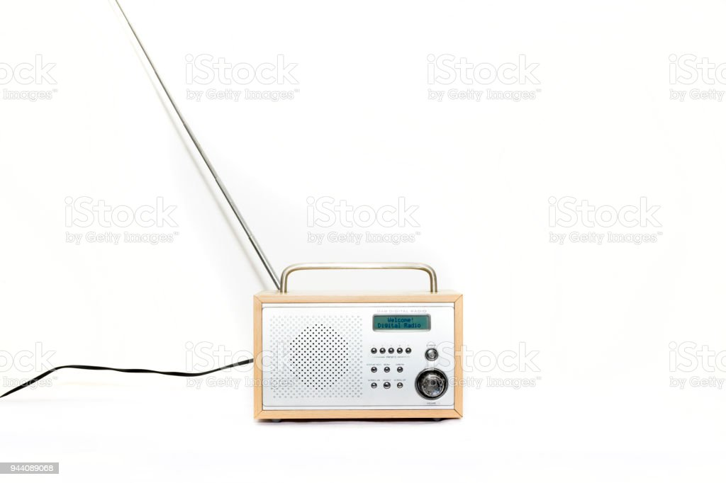 Porable DAB Digital radio front view