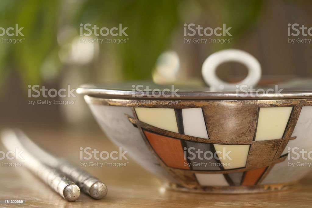 Porcelain Bowl stock photo