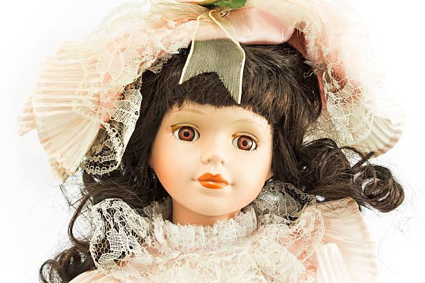 marioneta de porcelana - muñeca bisque fotografías e imágenes de stock